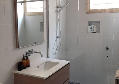 Encaustic Ensuite for a Modern Queenslander Bathroom Renovation