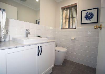 Powder Room Renovation - Westlake Brisbane