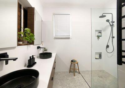 Walk in Shower Recess - Dual Niche Comfort Solution