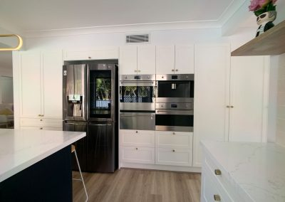 Appliance Wall for easy meal preparation.