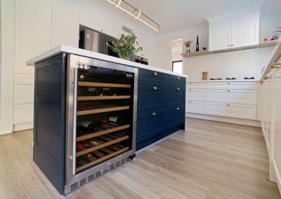 Kitchen Comfort Solutions - Under Bench Wine Fridge