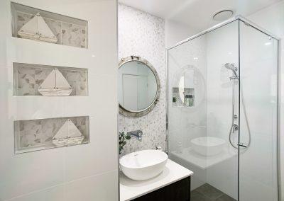 Triple Bathroom Wall Niche - Nautical Inspired Accessories