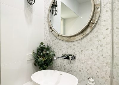 Feature Tile Wall - Oversized Vessel Basin