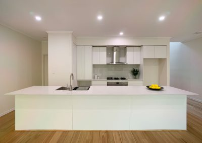 Townhouse Kitchen Renovation - Extra Large Benchtop Space