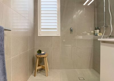 Walk in Shower Space - Shower Shelf for Cleansing products