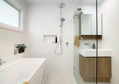 Twin Shower Rail - Fixed Panel Shower Screen