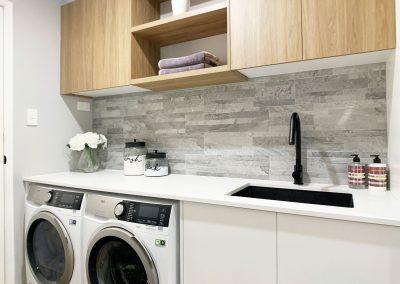 Black Sink & Tap Laundry